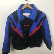 Vintage Yamaha Men Xl Snowmobile Thinsulate Jacket Winter Snow Insulated