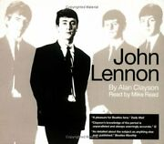 John Lennon Beatles By Clayson, Alan Cd-audio Book The Fast Free Shipping