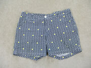 Columbia Shorts Womans 10 White Blue Chino Sailboats Casual Outdoors Ladies
