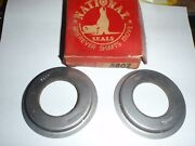 2 Front Wheel Oil Grease Seals 1934-1940 Buick 40 Special 34 35 36 37 38 39 40