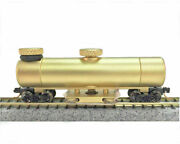 Cmx N Scale Clean Machine Track Cleaning Car Brass With Extra Pads