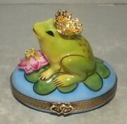 New Frog, Limoges Box Number 17 New