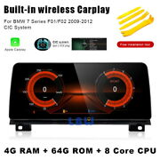 12.3 Android Car Gps Navigation Player Bt Wireless Carplay For Bmw 7 Series F01