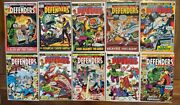 Defenders 1-50 Complete Run Most Mid-high Grade Key Comic Books First Appearance