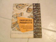 1958 Imperial Brass Products Auto Farm Trucks Product Catalog 125