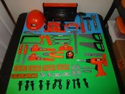 Lot Of 20+ Black And Decker Pretend Play Tools And Accessories