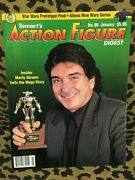Action Figure Digest Lot 5 Toy Fair, Kenner And Mego - 7 Issues Marvel Dc And More