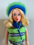 Barbie Twist Nand039 Turn Reproduction And Now Knit Habillage Original De 1970