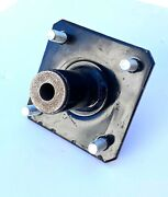 Tail Wheel Hub Rotary Cutter 4 Bolt Hole And 1 Bushing Universal Fit