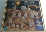 Dreamsicles Vintage 1995 Nativity Complete Set With Original Box