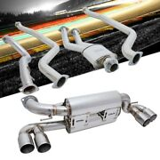 Megan Racing Supremo Exhaust Axleback Roll Tip+downpipe For Bmw 1 Series M E82