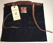 Sturdy Brothers The Orville Master Tool Roll Belt Waxed Canvas Nwt Msrp 120