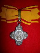 Japan Empire Order Of The Sacred Crown Medal 8th Class Badge