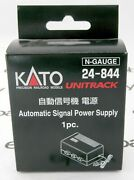 N Scale Automatic Three-color Signal Power Supply 1pc. - Kato Unitrack 24-844