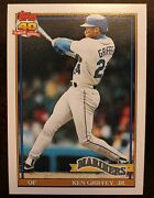 1991 Topps 40 Years Of Baseball Ken Griffey Jrand More 790 Mariners Pristine Con