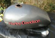 Harley Davidson 70and039s Shovelhead Amf Tank With Graphics And Cap Great Condition