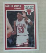 1989 Fleer Scottie Pippen 23 Basketball Card With Box Set