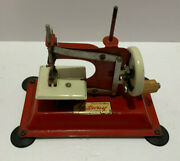 Antique Vintage Small Child's Toy Sewing Machine Junior Model Np1 Gateway