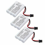 3x For Bg0004 Bg004 Cordless Home Phone Replacement Battery Pack Atandt 3095 3470
