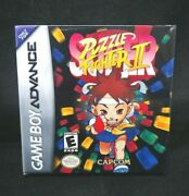 Super Puzzle Fighter Ii 2 Gba/game Boy Advance Brand New
