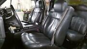 99-02 Chevy Silveardo/sierra Ext Cab Leather Heated Seats Front/rear Graphite
