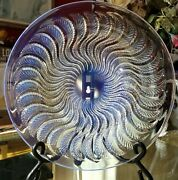R Lalique - Art Deco - Stunning - Opalescent Crystal Bowl - Actinia - 10