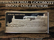 1974 Franklin Mint 1870 Stirling Eight-footer Sterling Silver Ingot A4543