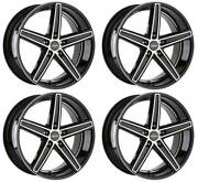 4 Oxigin Wheels 18 Concave 9x21 Et40 5x108 Swfp For Ford Edge Galaxy S-max Kuga