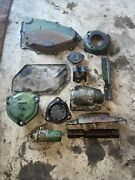 John Deere 70 Rowcrop Tractor Jd Cover Caps And Misc Parts And Pieces 12 Pieces
