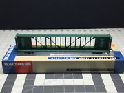 Walthers Gold Line Ho 72' Centerbeam Flat Car Cp 318403