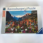 Ravensburger Flowery Mountains No 17 061 6. Jigsaw Puzzle 3000 Pieces. Sealed