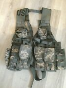 Us Military Load Bearing Vest Flc Nsn-8465-01-525-0577 Good Condition
