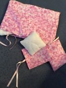 Barbie Doll Duvet With Pink Cotton Duvet Cover Two Piece Pillows With Cases New
