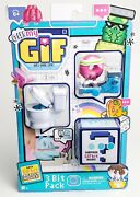 Oh My Gif Moving Collectible Toy, Working Out Doughby 1-pack - Funny Gifs