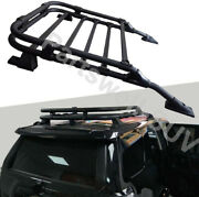 Roof Basket Rack Fits For Toyota 4runner 2006-2021 Rooftop Luggage Cargo Carrier