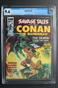 Savage Tales 3 Conan Red Nails Barry Smith Red Sonja Femizons Steranko Cgc 9.6