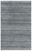 Rizzy Rugs Gray Contemporary Synthetics Lines Bars Banded Area Rug Solid Ewe104