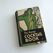 The Savoy Cocktail Book By Harry Craddock Signed Twice 1930 - First Edition