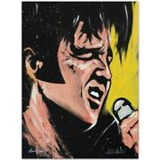 Elvis Presley 68 Special Limited Edition Giclee On