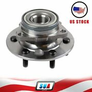 Front For 88-91 Gmc Chevy K1500 4x4 Wheel Hub Bearing Assembly 1 Thick Rotors