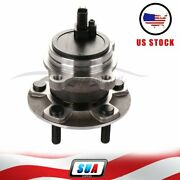 Rear For 2012-2016 Ford Focus W/abs Wheel Hub And Bearing Assembly 512466 New