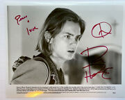 I Love You To Death Photo Signed By River Phoenix Stand By Me Actor Auto Coa