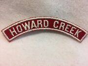 14 Boy Scouts - Howard Creek - Red And White Shoulder Community Strip
