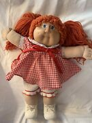 Cabbage Patch Doll Vintage 1978-1982 Red Hair Blue Eyes