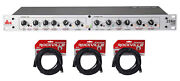 Dbx 234xs Rack Mount Stereo 2/3/4-way Crossover Pro Audio Sound Processor+cables