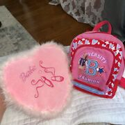 Y2k Barbie Pillow And Backpack Bundle