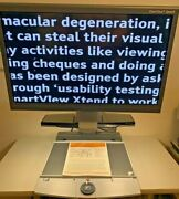 Optelec Clearview Ocr Speech 24 Flex Low Vision Video Magnifier 1.5 Years Old