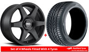 Alloy Wheels And Tyres 19 Rotiform Six For Jeep Cherokee [mk4] 08-13