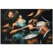 Lola Beats Limited Edition Giclee On Canvas 60 X