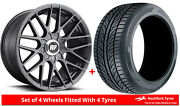 Alloy Wheels And Tyres 18 Rotiform Rse For Mitsubishi Outlander [mk2] 06-12